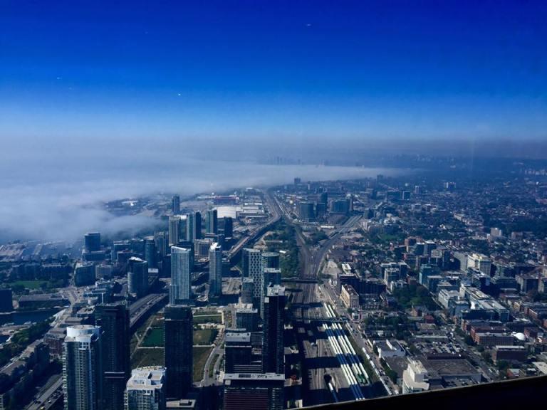 Foto di Toronto dall'alto