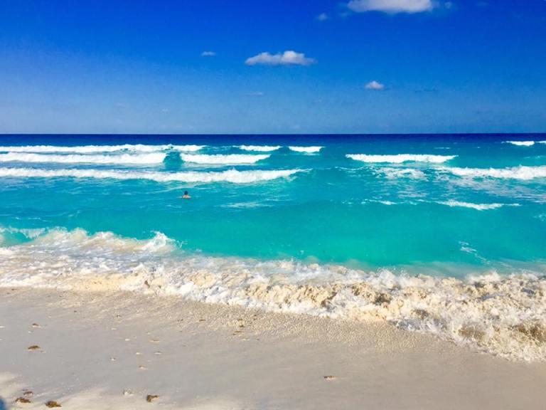 foto della spiaggia di Cancùn