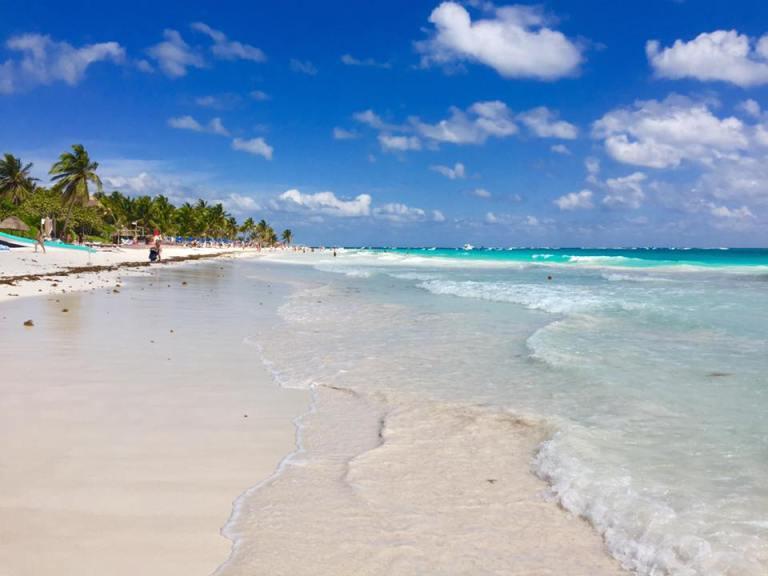 spiaggia in Messico
