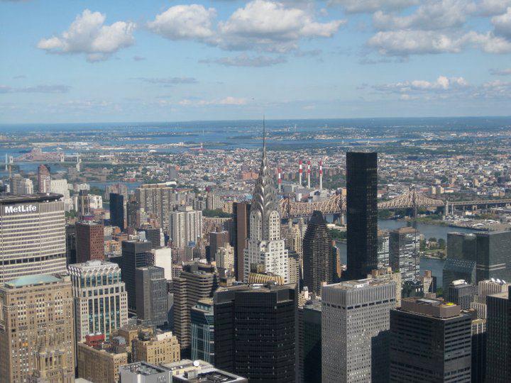 vista dall'Empire State Building