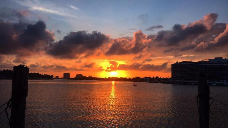 Tramonto a Miami