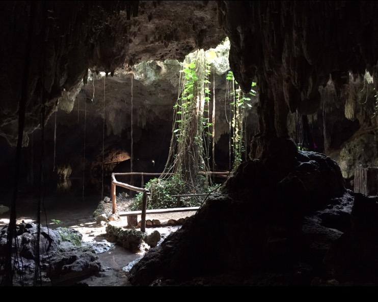 interno della grotta Messico