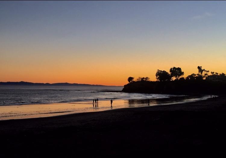 Spiaggia di notte California