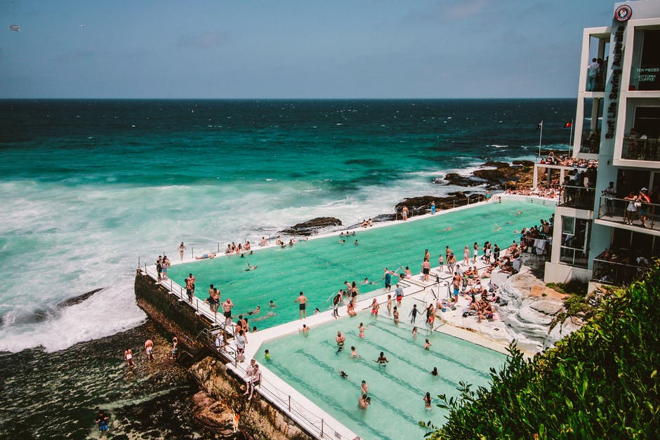 piscina di bondi beach a Sydney