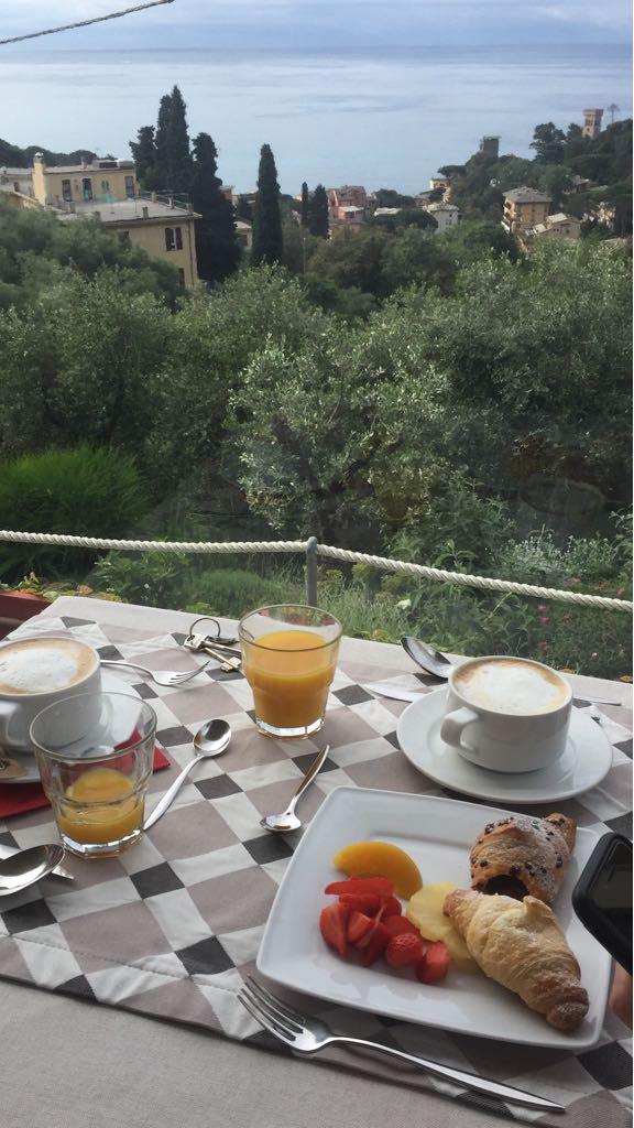 colazione a monterosso in albergo